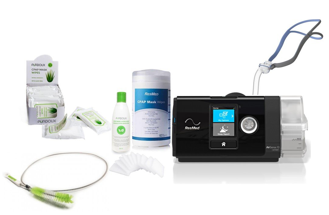 Resmed Airsense 10 Autoset Professional Package All Cpap